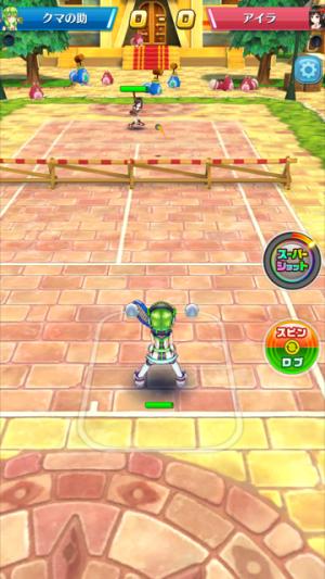 白猫テニス マッチ