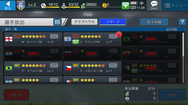 BFBチャンピオンズ2.0 選手放出